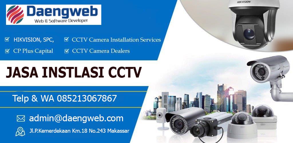 harga pasang CCTV makassar